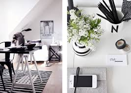 Black And White Home Interior Vasare Nar Art Fashion U0026 Design Blog
