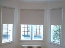 Sheer Roller Blinds For Arched Best 37 Bay Window Blinds Images On Pinterest With Regard To