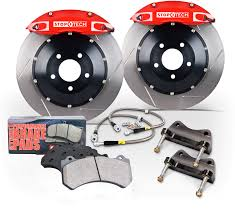 lexus f sport big brake kit new stoptech big brake kits available for lexus and toyota models