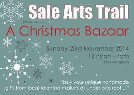 sale arts trail presents u2026 u2026a christmas bazaar