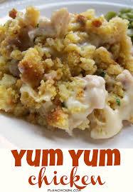 stuffed chicken for thanksgiving yum yum chicken creamy chicken casserole cornbread stuffing and