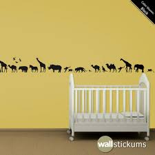 safari wall decals roselawnlutheran wild animals safari evergreen animal wall decals