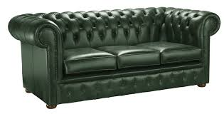 Verde Leather Chesterfield Sofa Handcrafted In The UK - Chesterfield sofa uk