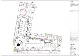 Floor Plan Business by Office Space In Bestech Business Tower Prithvi Estates