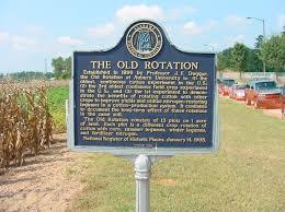 national geographic includes auburn u0027s u0027old rotation u0027 cotton field