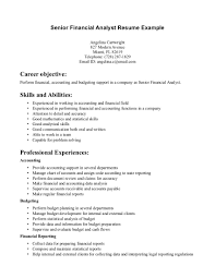 objective for finance resume resume objective for banking sector