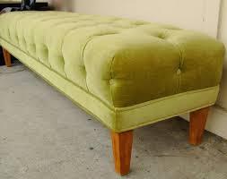 etheline upholstered bedroom benchlong tufted leather bench extra