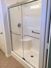 non glass shower doors gallery of shower door installations palmetto glass of beaufort sc