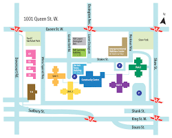 map to getting to camh