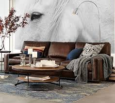 Classic Leather Sofa by Best 25 Grey Leather Couch Ideas Only On Pinterest Leather