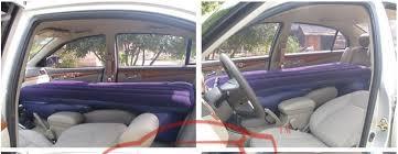 car air bed car travel bed inflatable air mattress driving a
