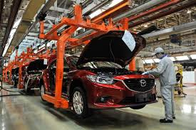 mazda car line toyota mazda partnership may not impact china production business