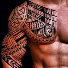48 coolest polynesian designs chest polynesian