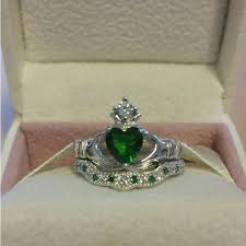 claddagh set claddagh engagement ring sets engagement ring usa