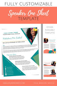 One Sheet Template 39 Best Speaker One Sheets Images On Speakers Graphic
