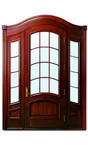 wood and glass exterior doors residential entry door