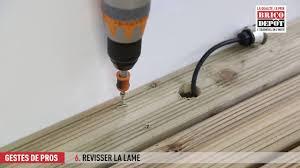 le de terrasse encastrable comment installer des spots encastrables sur une terrasse en bois