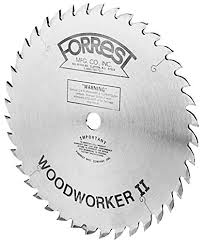table saw blade width forrest ww10407100 woodworker ii 10 inch 40 tooth atb 100 kerf saw