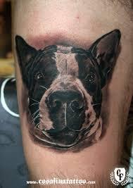 terrier tattoo cosafina tattoo carlos art studio tatuaje retrato perro mascota