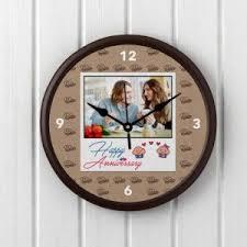 personalized anniversary clock clock stud muffin personalized anniversary clock online indian