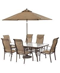 10 Chair Dining Table Set Dining Sets Outdoor Patio Furniture Macy U0027s