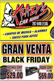 black friday car audio especiales de black friday en krazy car audio