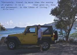jeep quotes michael burr st john usvi miriam beard quote travel quotes