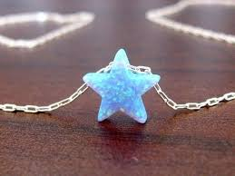 opal jewelry necklace images Opal necklace star opal necklace opal jewelry necklace star etsy jpg