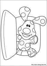 blue u0027s clues coloring pages coloring book