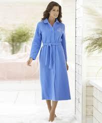 robe de chambre courtelle robe de chambre courtelle 127 cm bleu femme damartsport