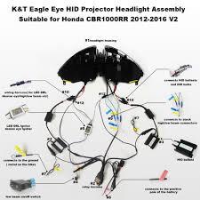 aliexpress com buy kt headlight for honda cbr1000rr 2012 2016
