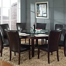 Rug Under Dining Room Table by Round Dining Room Table For 6 Idea A1houston Com