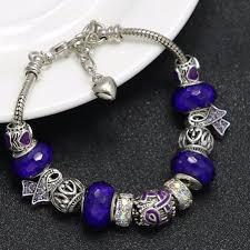 handmade charm bracelet images Handmade fibromyalgia awareness charm bracelet png