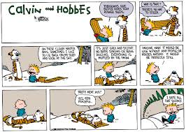 my two favorite calvin and hobbes snow sunday strips album on imgur
