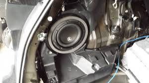 lexus ct200h tires oem replace woofer in factory subwoofer cabinet
