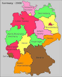 map of germany with states and capitals world coins german states