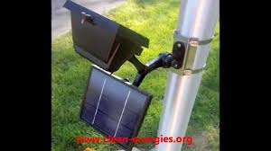 Outdoor Solar Lights On Sale by Commercial Solar Flagpole Light Solar Sign Light Youtube
