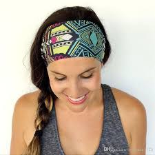 headbands sports fashion bohemia headbands women sports headbands washing