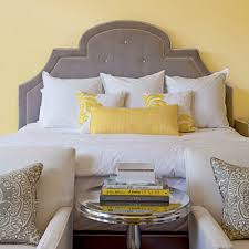 yellow and gray room 40 charming guest bedrooms soft fabrics bald hairstyles and gray