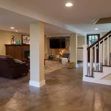 Painted Concrete Basement Floor by 240 Best Basement Images On Pinterest Baseboards Baseboard