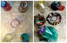 plastic cup shrinky dink ornaments