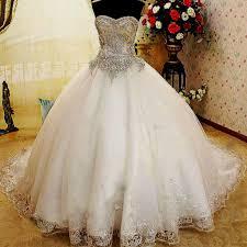 Wedding Dresses Ball Gown Sweetheart Neckline Ball Gown Wedding Dresses With Bling Naf Dresses