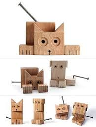Wood Projects For Gifts by Diy Wooden Robot Buddy Easy Project For Kids Wooden Toys