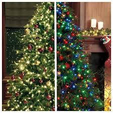 innovation idea multi colored pre lit tree 7 trees 6 light
