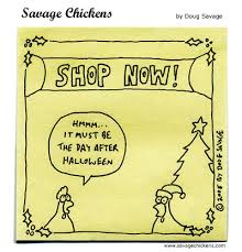 the day after savage chickens on sticky notes