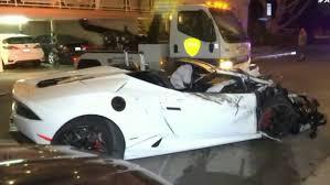 lamborghini crash lamborghini crashes into parked cars fox5sandiego com