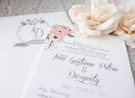 wedding invitations jakarta joyeux moment wedding invitations in jakarta bridestory
