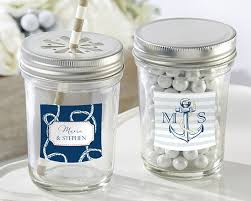 nautical wedding favors personalized nautical wedding jar set of 12