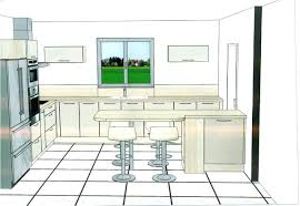 plan implantation cuisine implantation cuisine le plan est plus sympa idee en u lolabanet com