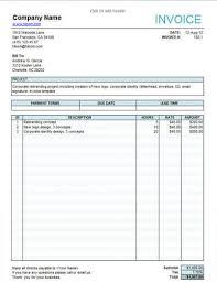 sample invoice templates design invoice templates free template